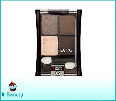 maybelline eyeshadow expert wear natural smokes