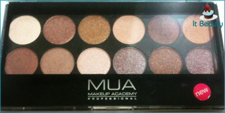 Make Up Academy Eyeshadow Palette