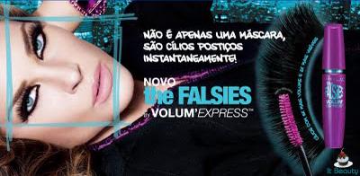 Maybelline The Falsies Propaganda Brasil