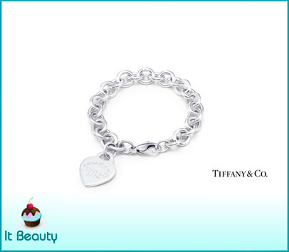 Tiffany Heart Tag Silver Bracelet