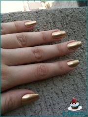 Esmalte Ouro Dourado Ellen Gold Mettalic