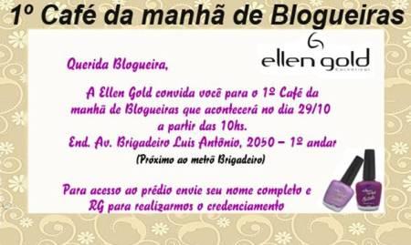 Evento Ellen Gold