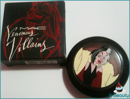 mac venomous villains darkly my dear blush cruella