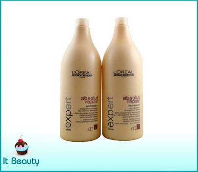 loreal absolut repair shampoo condicionador