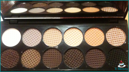 sleek eyeshadow palette au naturel