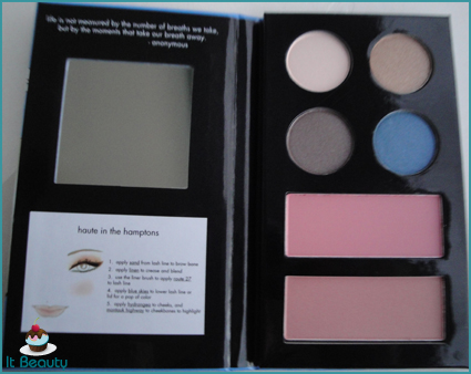 stila eyeshadow blush bronzer palette hamptons