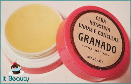 Cera nutritiva unhas e cutículas Granado Pink
