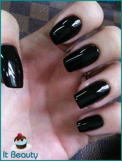 revlon black lingerie nail polish