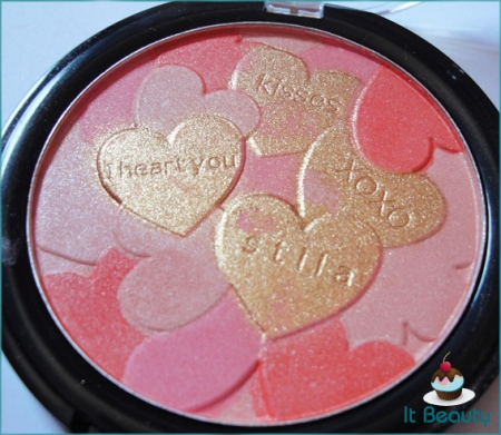 Stila blush Valentines Day Make me blush