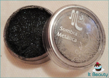 Sombra Metálica Marchetti Preta 23