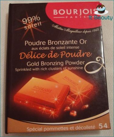 bronzer delice de poudre bourjois 54 pommetes et decollete