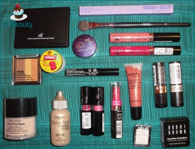 Revlon Sally Girl Contém Bobbi Brown ELF Urban Decay Max Love Dailus NYX Ariana