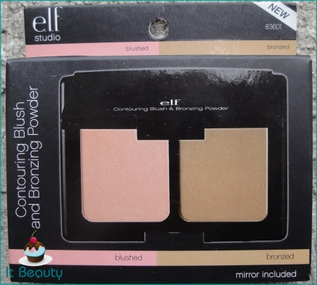 ELF Studio Contouring Blush  Bronzing Powder