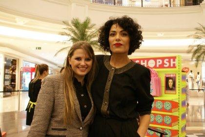 Mia Brunell e Fabiana Gomes