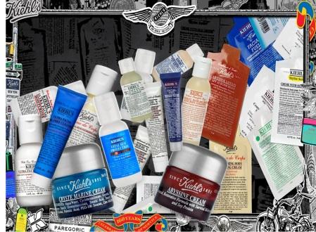 amostras Kiehls shampoo condicionador