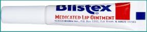 blistex medicated lipbalm tube