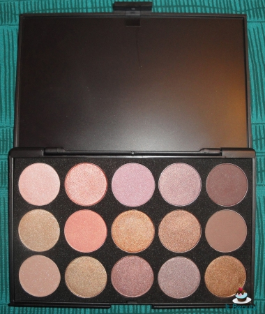 Paleta 15 cores eye shadow sombra palette