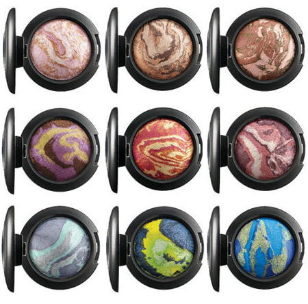 mac heavenly creature collection mineralize eye shadow
