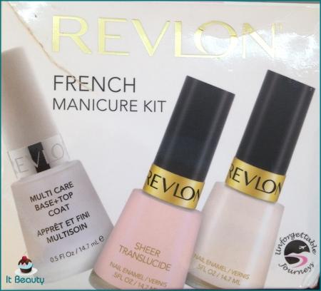 Revlon French Manicure Kit unha francesinha