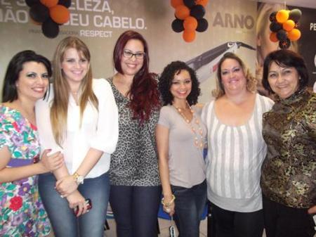 Meninas!! Natalie, eu, Aline, Fe, Alê e a Bete da YX
