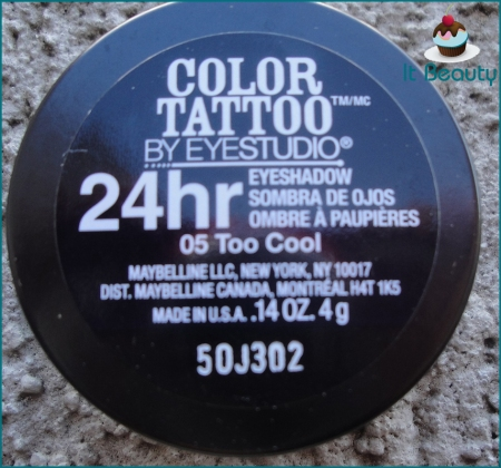 Maybelline Eyestudio Color Tattoo Too Cool