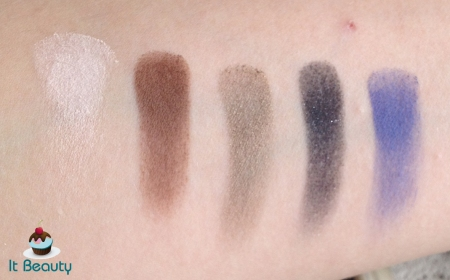 Sombras quem disse berenice swatches