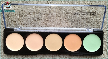 MUFE Camouflage Palette cor 1