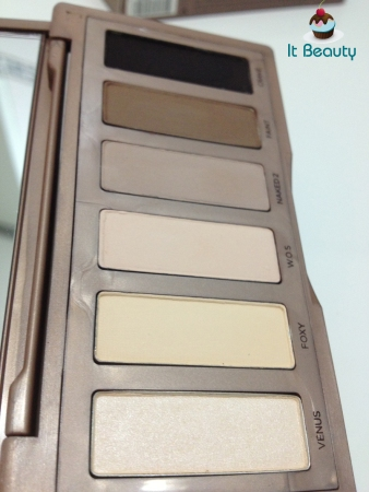 Urban Decay Naked Basics neutrals eyeshadows