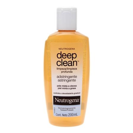 deep clean adstringente neutrogena