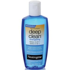 deep clean neutrogena tonico 2 em 1