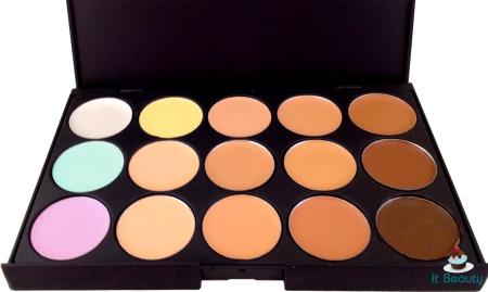 palette corretivos 15 cores