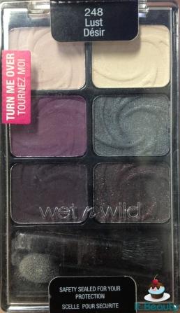 Wet n wild Eyeshadow Palette 248 Lust fechada