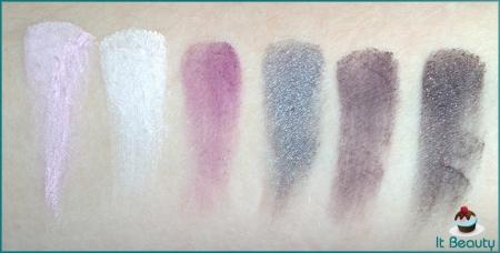 Wet n wild Eyeshadow Palette 248 Lust swatch 2
