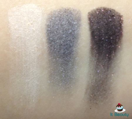 Wet n wild Eyeshadow Palette 248 Lust swatch metalicas