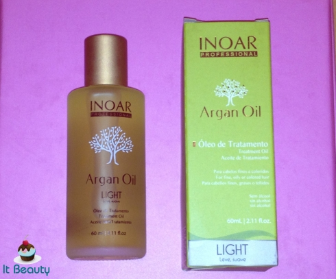 inoar novo oleo argan light