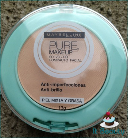 Maybelline pure zone pó