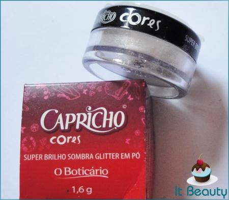Sombra Glitter Capricho boticário