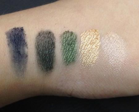 Vult Glam paleta de sombras swatch