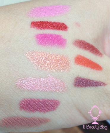 tracta beleza angelical batons swatch