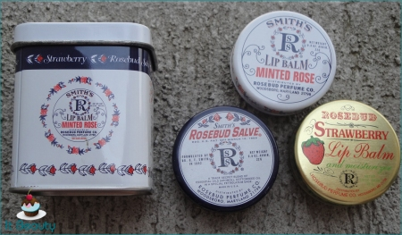 Rosebud kit balms