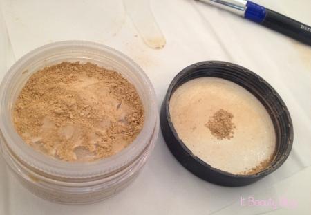 Bare Minerals base original fairly light