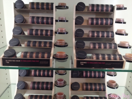 Bare Minerals bases pó mineral