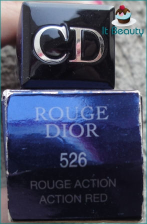 Dior Rouge Action Red 526 Lipstick