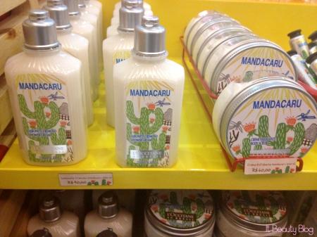 L'Occitane au Brésil Mandacaru hidratantes