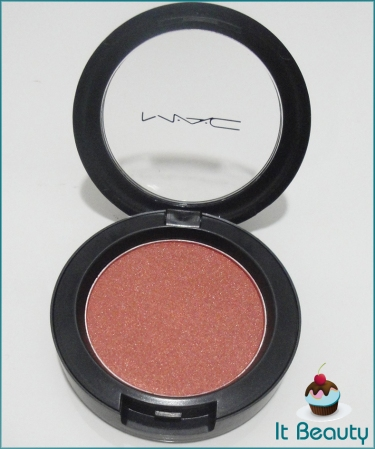 MAC blush ambering rose sheertone shimmer