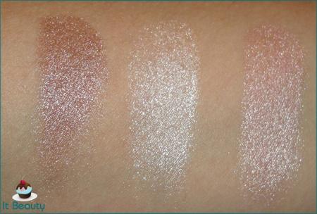 MUA Eyeshadow Trio Pink Sorbet swatch