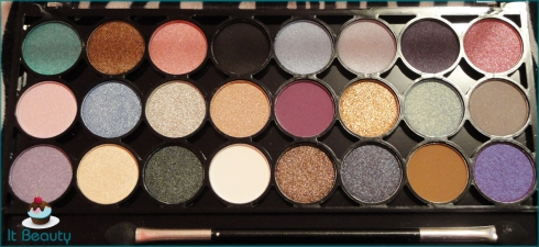 MUA Immaculate Collection Eye Shadows