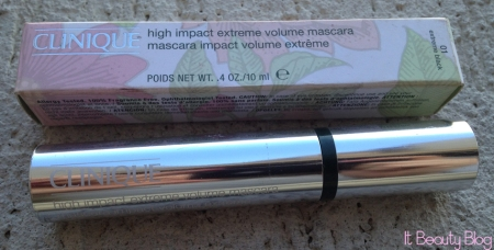Clinique high impact volume extreme mascara