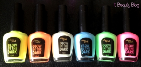 Ellen Gold esmaltes glow in the dark