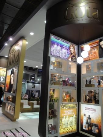 Gota Dourada beauty fair 2013